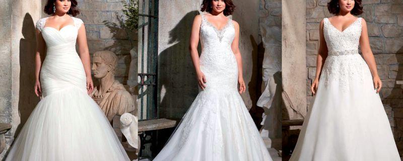 Curvy brides, looks para inspirarte.