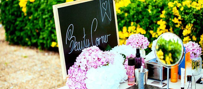 Beauty corner: Pon un atelier de maquillaje en tu boda