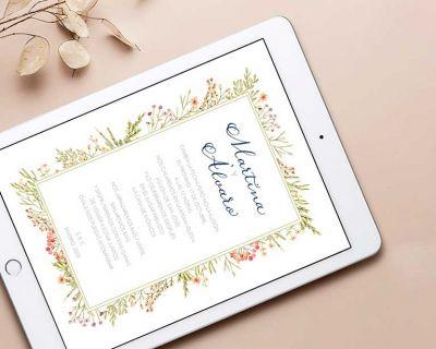 Invitaciones de boda digitales: la mejor alternativa para las parejas que han aplazado su boda