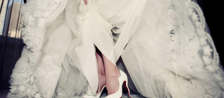 Tendencias en zapatos de novia