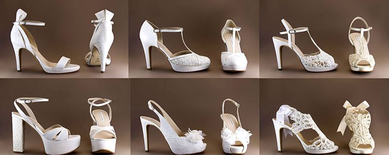 Tendencias en zapatos de novia