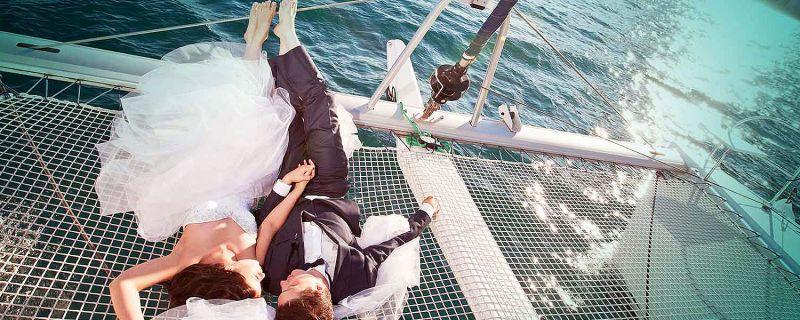 Tu boda en un barco. ¿Te imaginas?