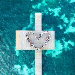 Un dron en tu boda: las mejores imágenes aseguradas