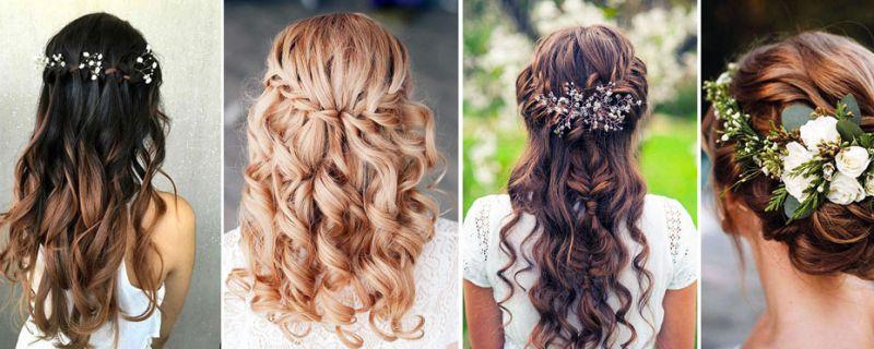 Peinados con trenza para el día de tu boda