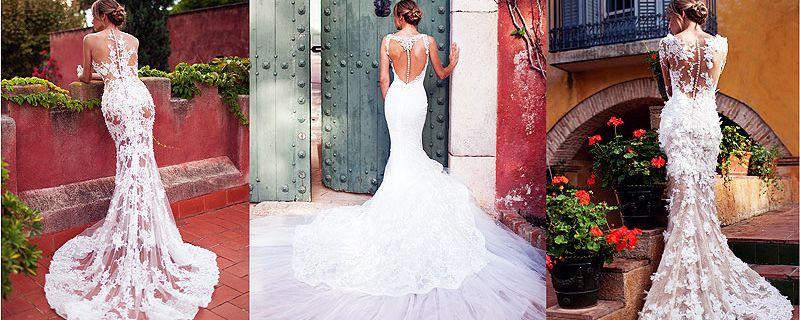 Vestidos para las novias sexys