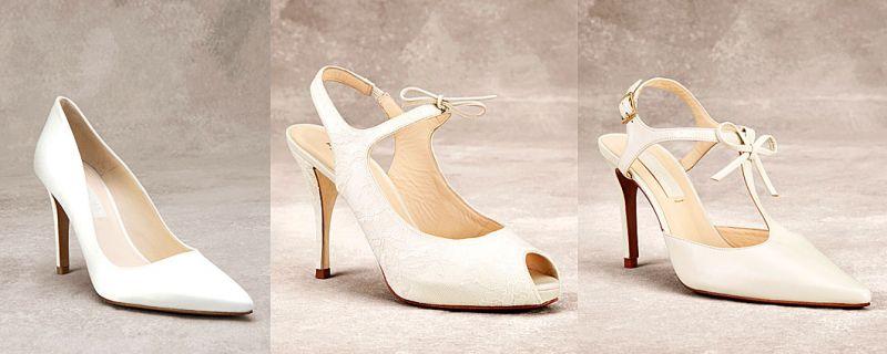 Sutil elegancia en zapatos de novia 2016