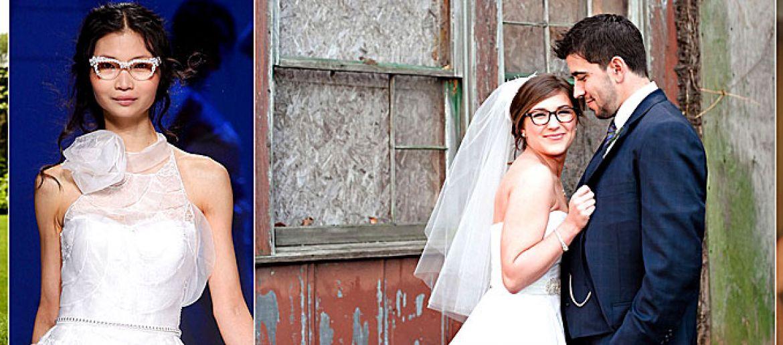 Maquillaje de 10 para novias con gafas