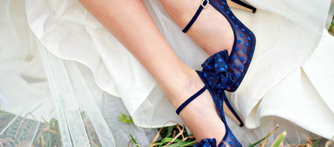 Tendencias 2015 en zapatos de novia