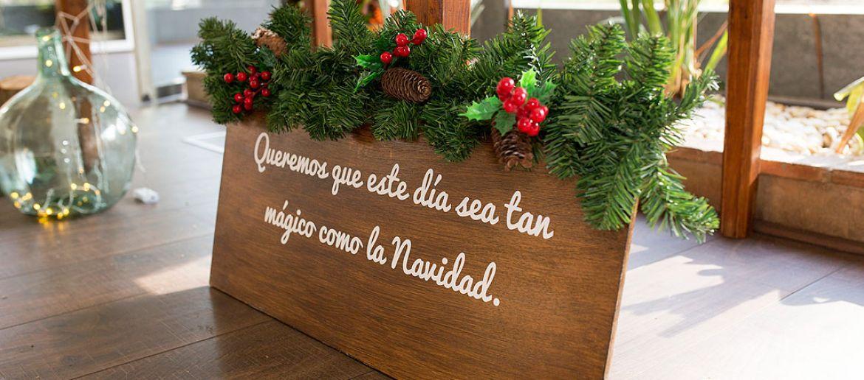 Una boda en Navidad