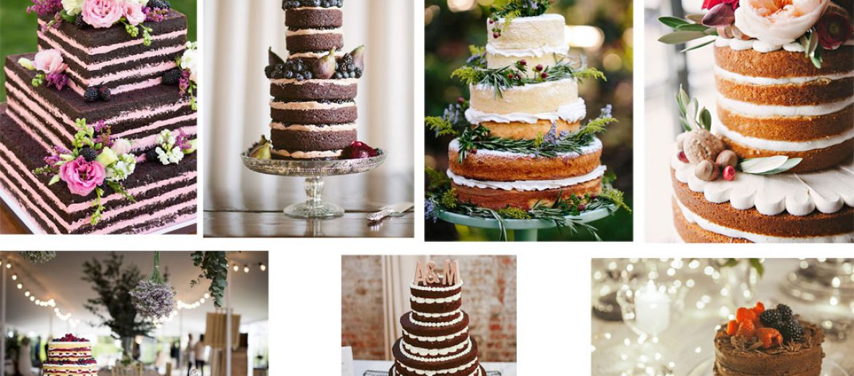 Las nuevas tartas de boda
