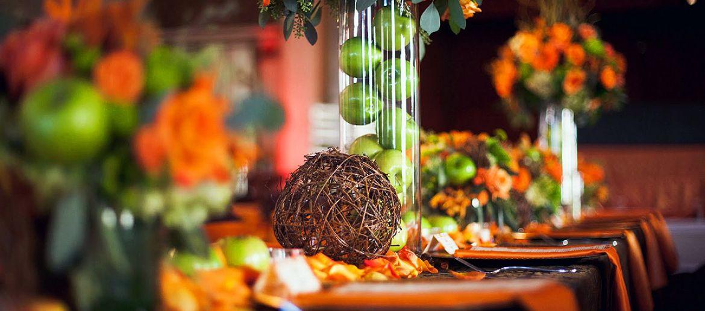 Una boda de otoño